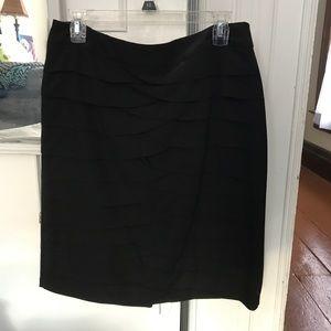 Black Larry Levine Skirt